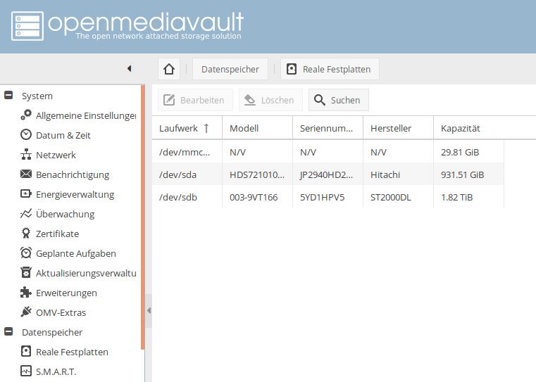 OpenMediaVault