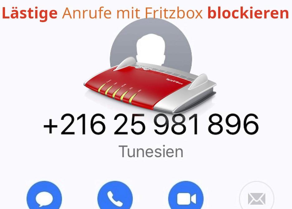 Lästige Anrufe - Fritzbox Werbeanrufe blockieren
