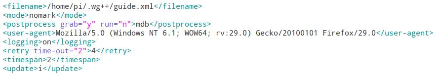 EPG WebGrab+Plus Konfiguration