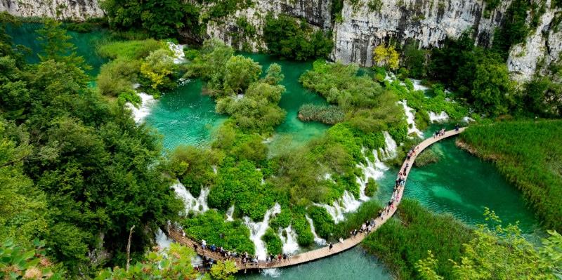 Kroatien Plitvice Seen