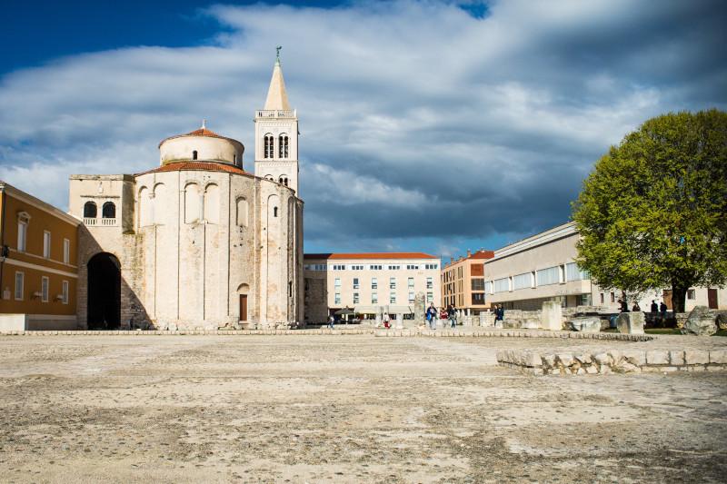 Zadar Altstadt Donat Kroatien