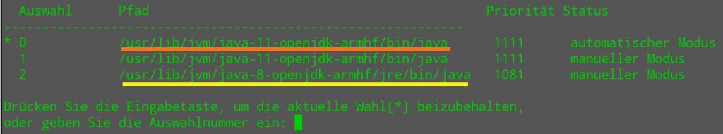Java Verzeichnis