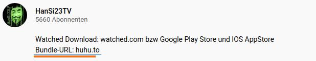 Bundle URL