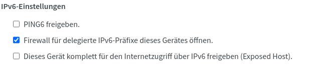 Fritzbox Firewall öffnen