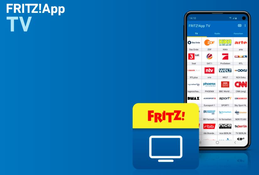 Fritz TV auf Handy oder Tablett