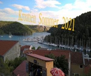 Kroatien Sommer 2021