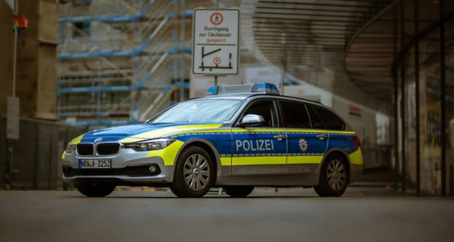 Bundespolizei Virus