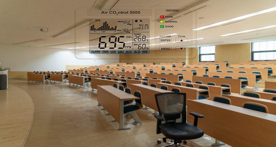 CO2 Monitor Schulungsräume