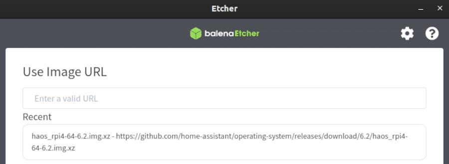 Etcher - Image URL