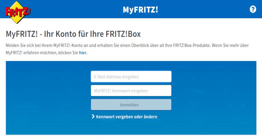 MyFritz - Neue Cloud Dienst